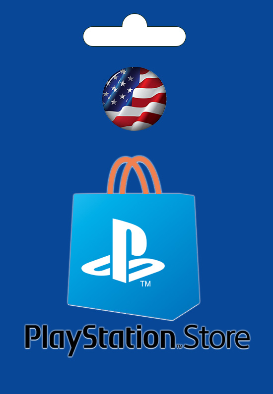 PlayStaion USA Card