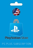 PlayStation US PS Plus Subscription